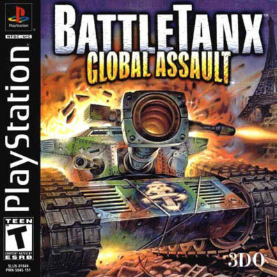 скачать BattleTanx: Gloabal Assault  PS1