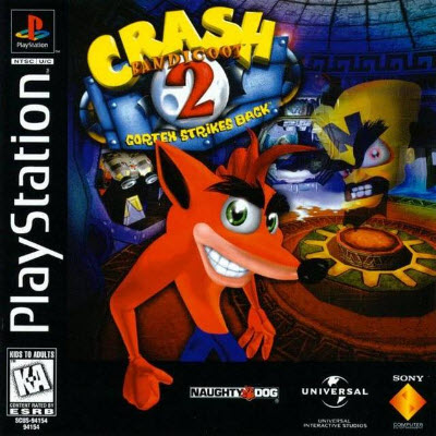 скачать Crash Bandicoot 2: Cortex Strikes Back  PS1