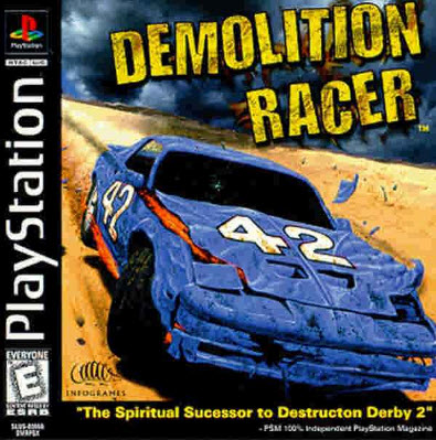 скачать Demolition Racer  на ps1