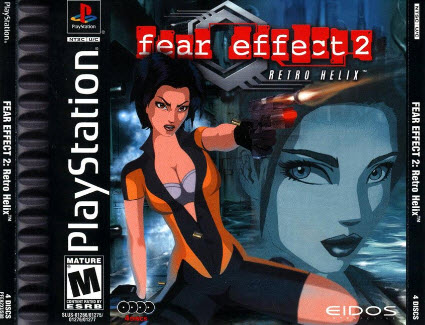скачать Fear Effect 2 Retro Helix  PS1