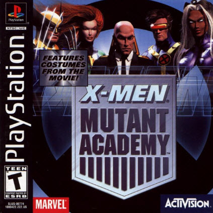 скачать X-Men-Mutant Academy PS1